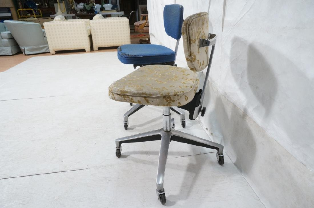 2 Rare KNOLL 76-S Office Desk Chairs. EERO SAARIN - 4