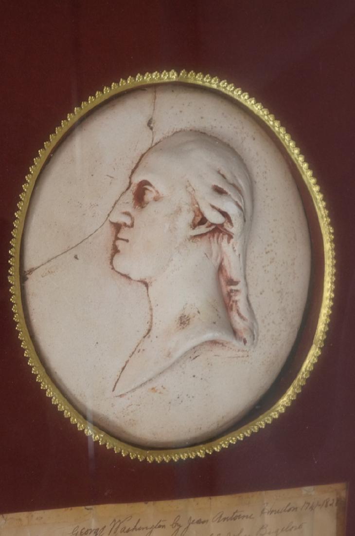 After JEAN ANTOINE HOUDON Plaster Portrait Cast. - 2