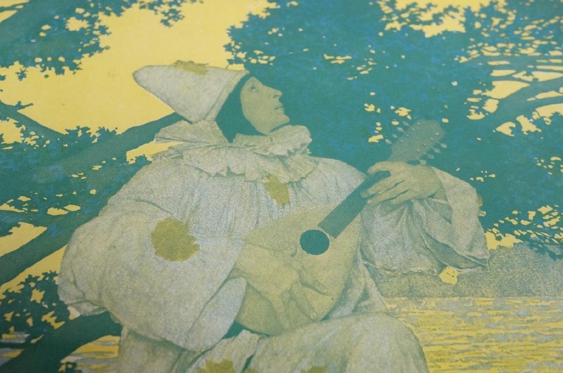 """3 MAXFIELD PARRISH Prints. Vintage Frames. """"Garde - 7"""