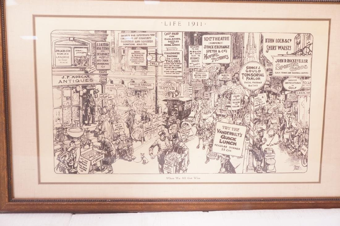 "HARRY GRANT DART ""Life 1911"" Political Cartoon. W"