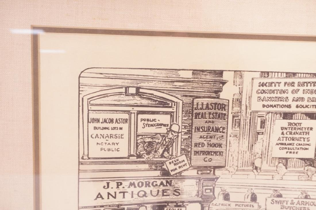 "HARRY GRANT DART ""Life 1911"" Political Cartoon. W - 3"