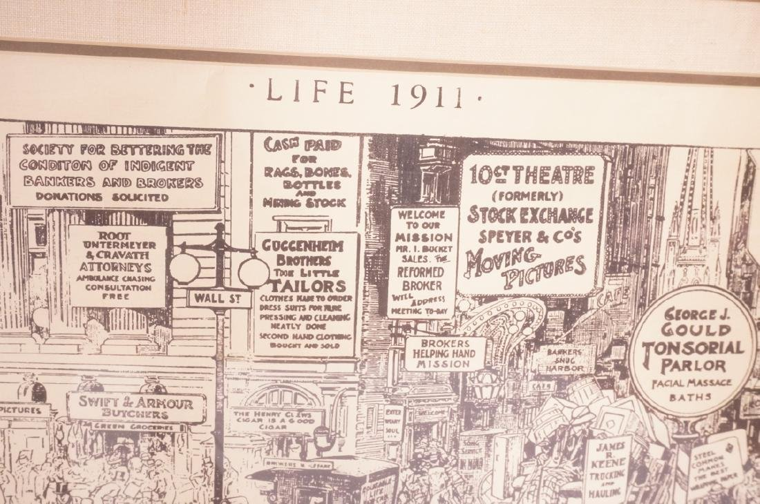 "HARRY GRANT DART ""Life 1911"" Political Cartoon. W - 4"