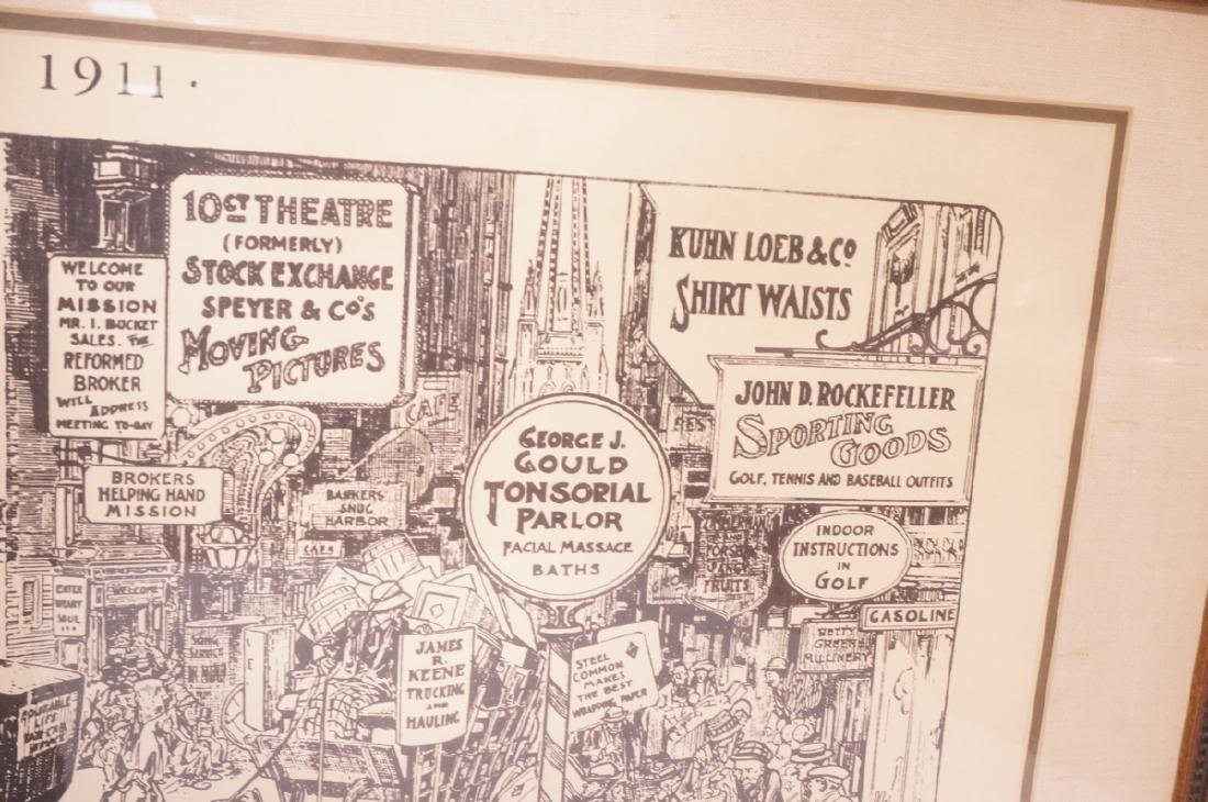 "HARRY GRANT DART ""Life 1911"" Political Cartoon. W - 5"