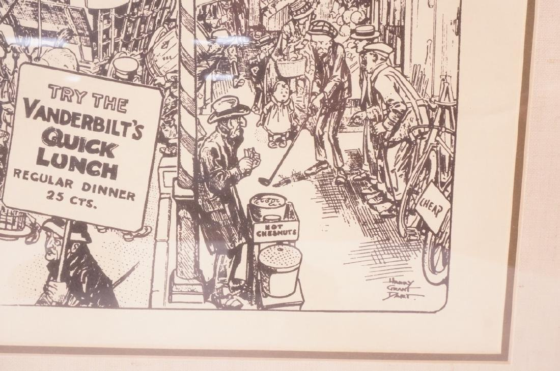 "HARRY GRANT DART ""Life 1911"" Political Cartoon. W - 6"