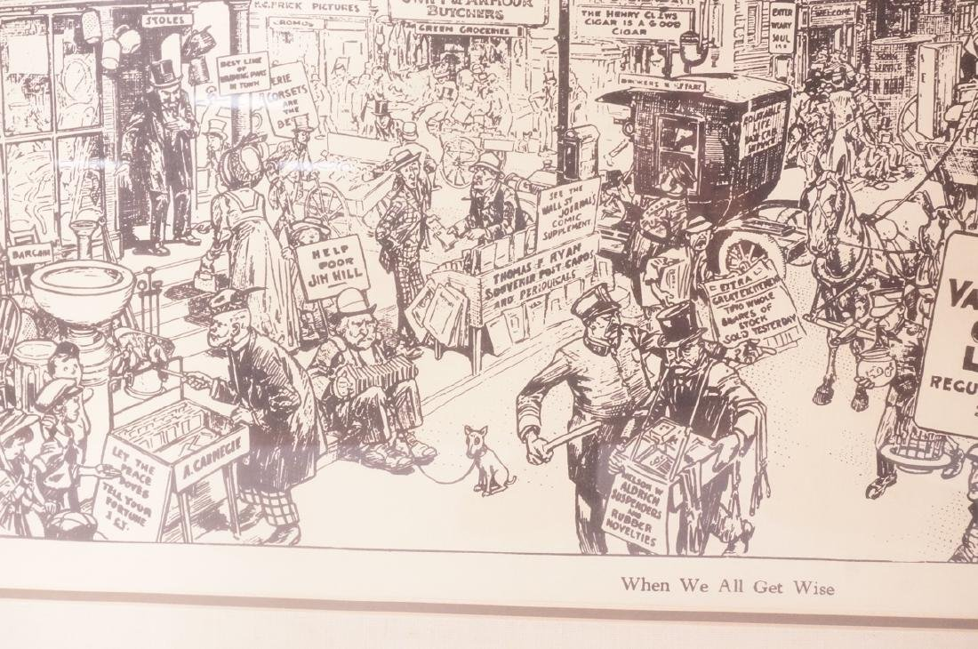 "HARRY GRANT DART ""Life 1911"" Political Cartoon. W - 8"