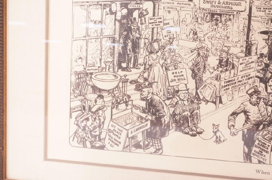 "HARRY GRANT DART ""Life 1911"" Political Cartoon. W - 9"