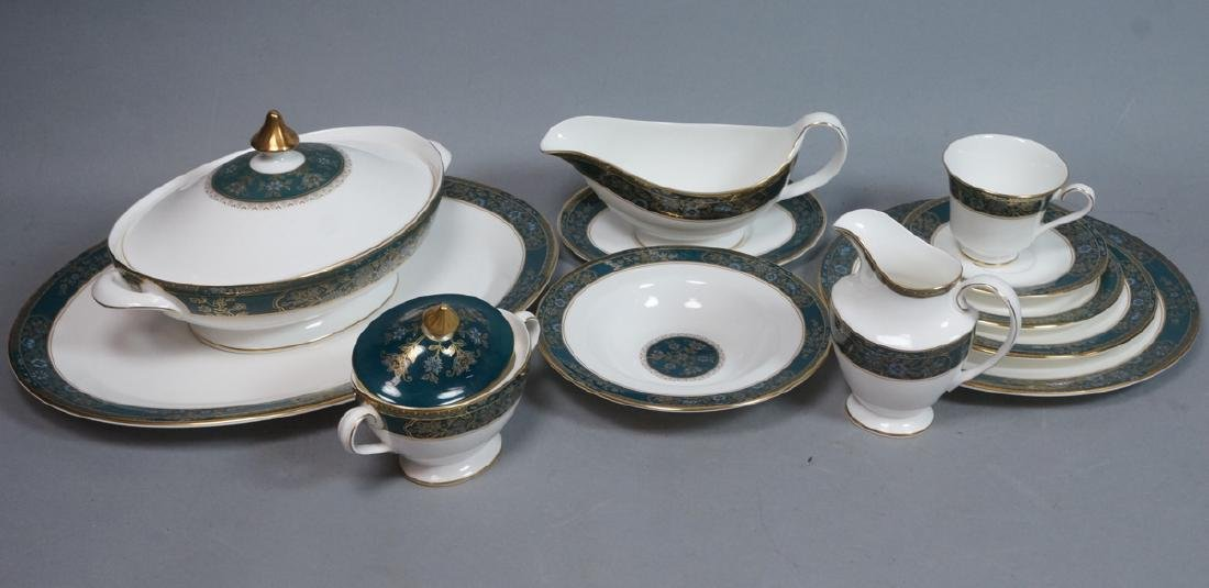 80pc ROYAL DOULTON Carlyle China. Porcelain Dinne