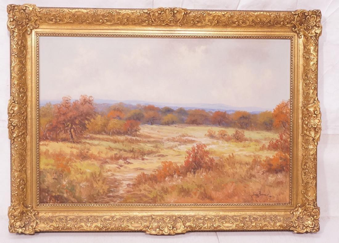 JOSE RAMOS Landscape Oil Painting. Autumn landsca