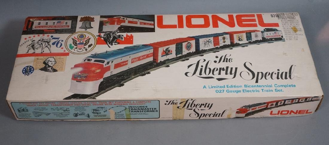 LIONEL 'The Liberty Special' Ltd. Ed. Bicentennia