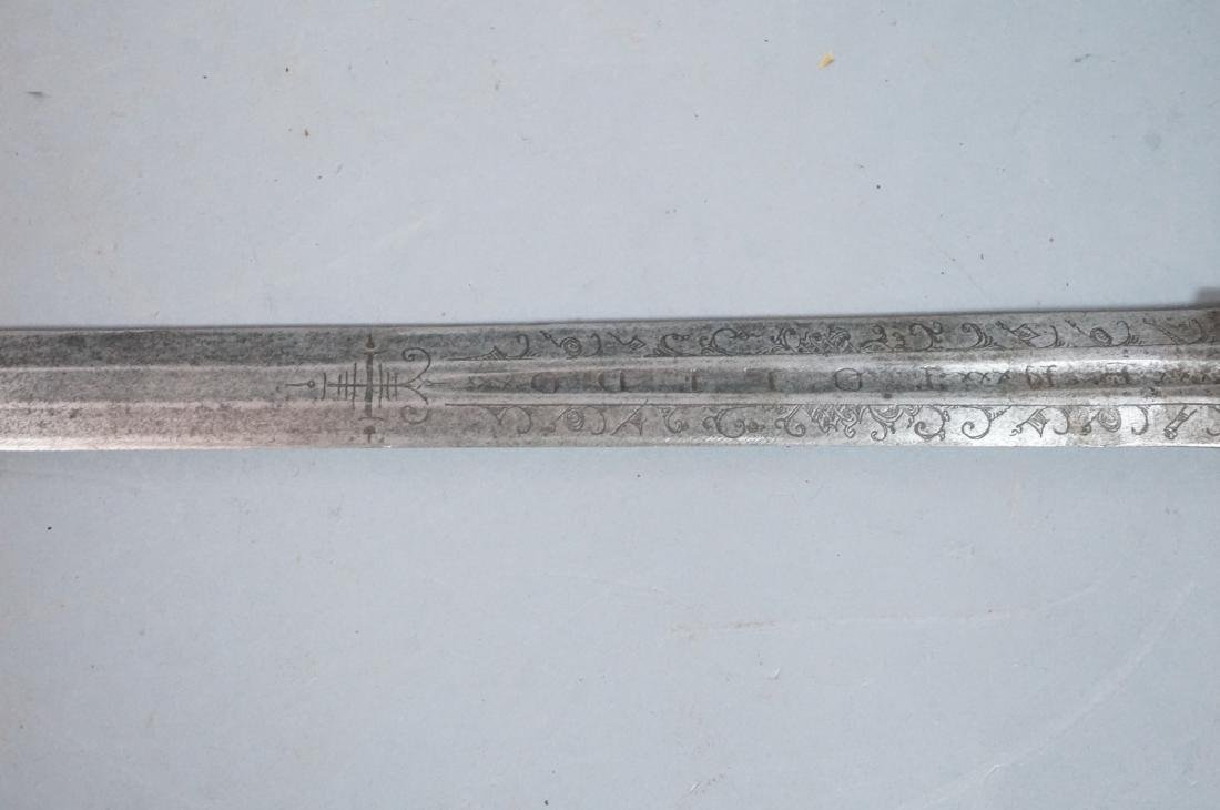 2 Vintage Swords. One steel blade marked E.N. Tol - 7