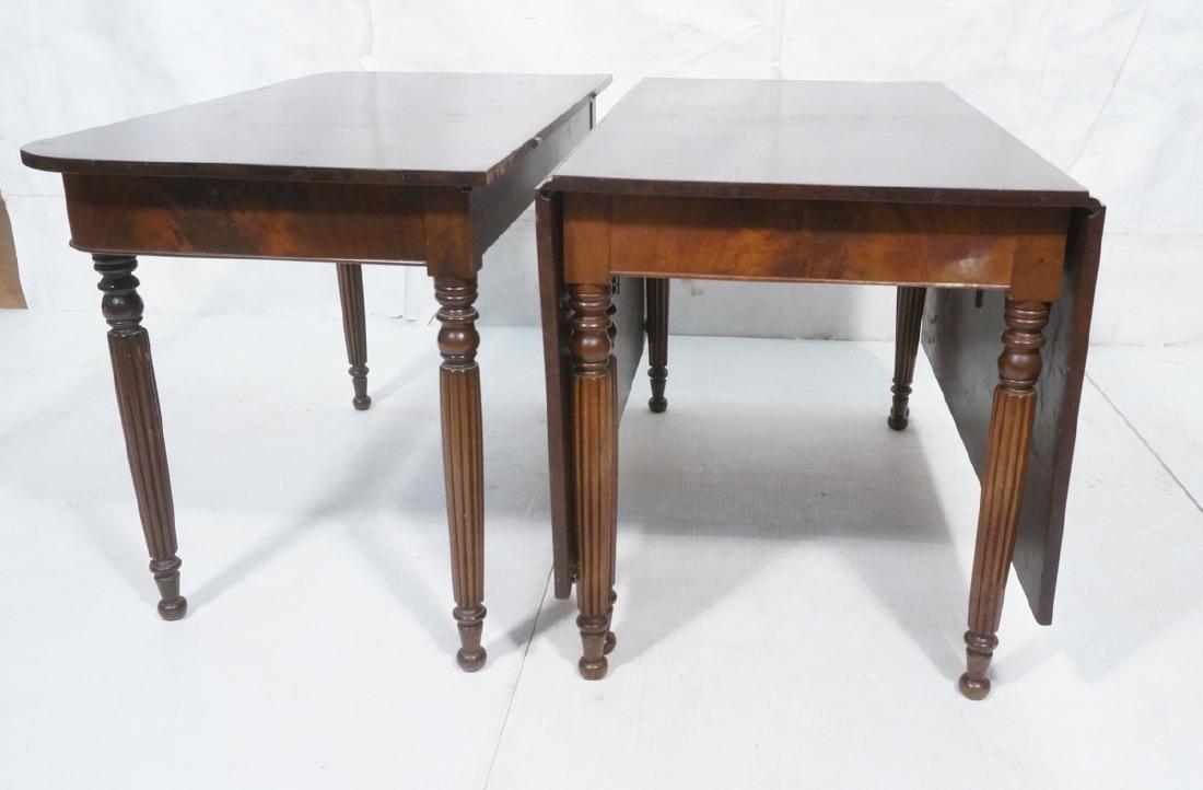 Antique Mahogany Banquet Dining Tables. Sheraton