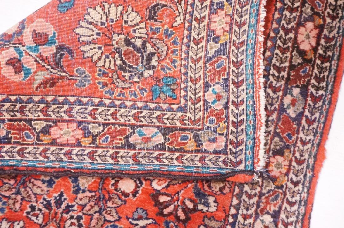 "4'10"" x 2'6"" Handmade Oriental Carpet Rug. Overal - 4"