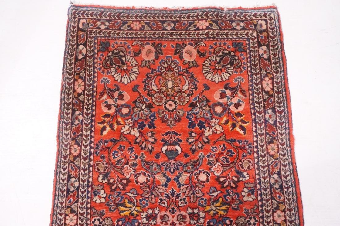 "4'10"" x 2'6"" Handmade Oriental Carpet Rug. Overal - 5"