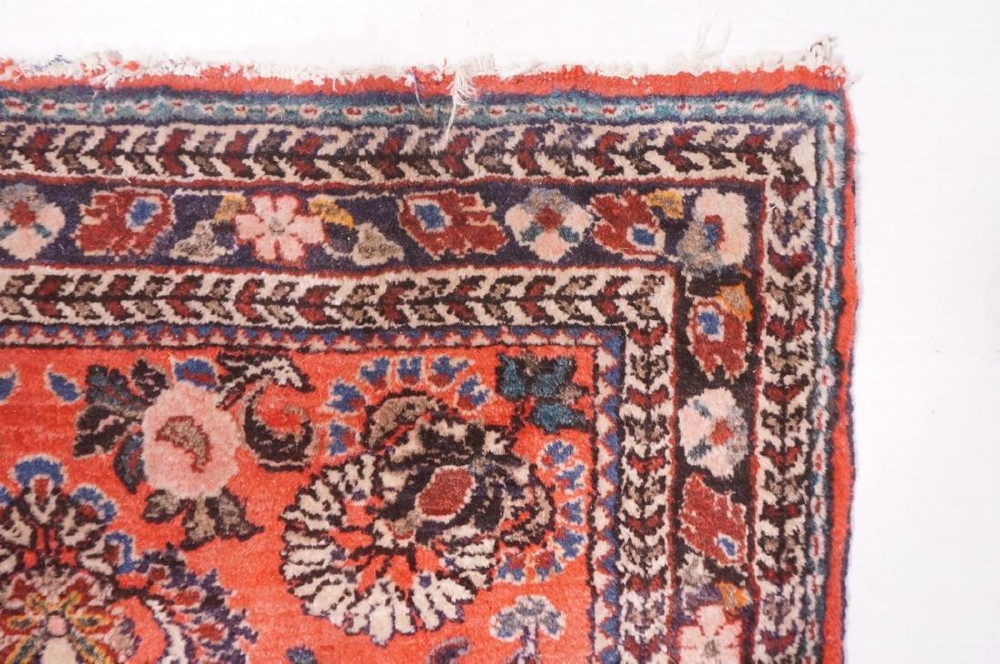 "4'10"" x 2'6"" Handmade Oriental Carpet Rug. Overal - 6"