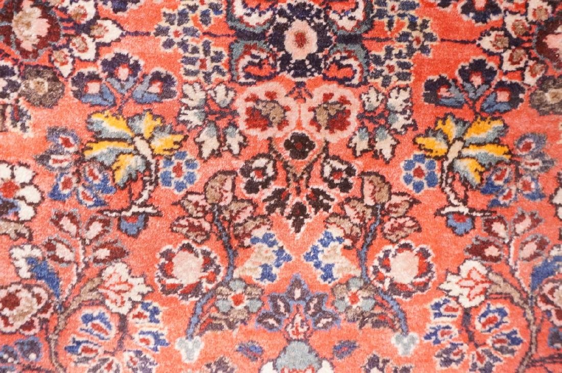 "4'10"" x 2'6"" Handmade Oriental Carpet Rug. Overal - 7"
