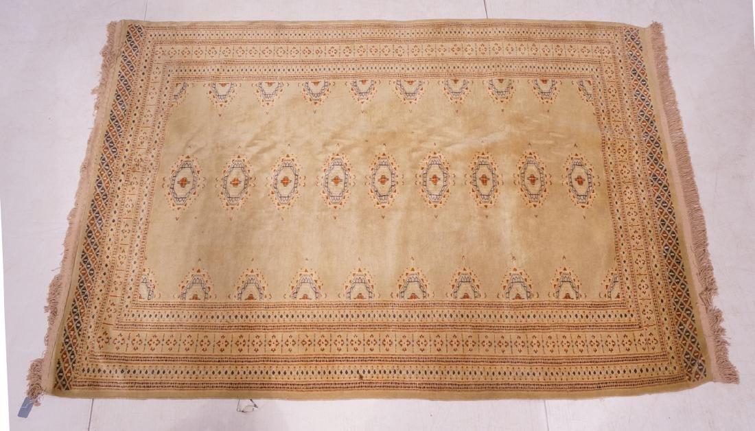 "6'2"" x 4'3"" Handmade Oriental Carpet Rug. Repeati"