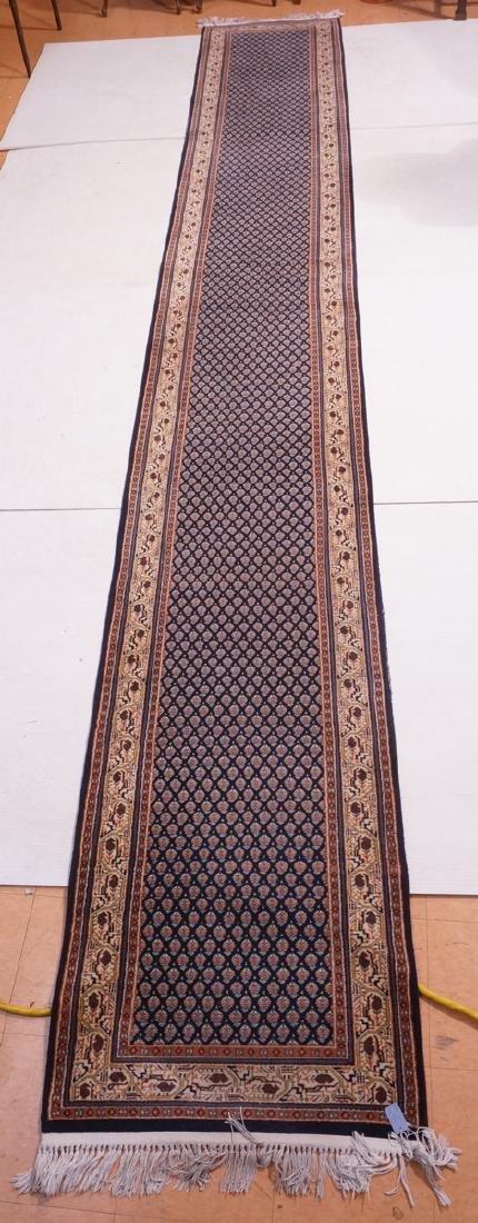 """18'3"""" x 2'7"""" Handmade Bokhara Runner Carpet Rug."""