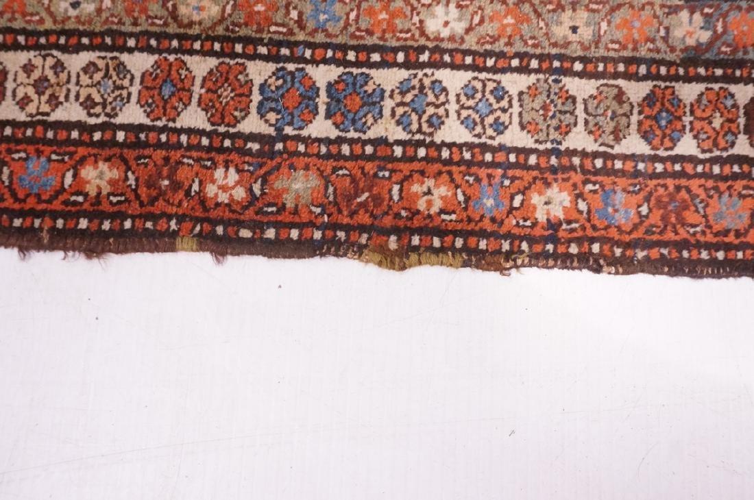"13'10"" x 3'7"" Handmade Oriental Rug Carpet. Geome - 10"