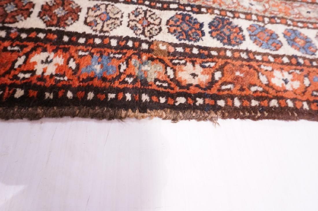 "13'10"" x 3'7"" Handmade Oriental Rug Carpet. Geome - 7"