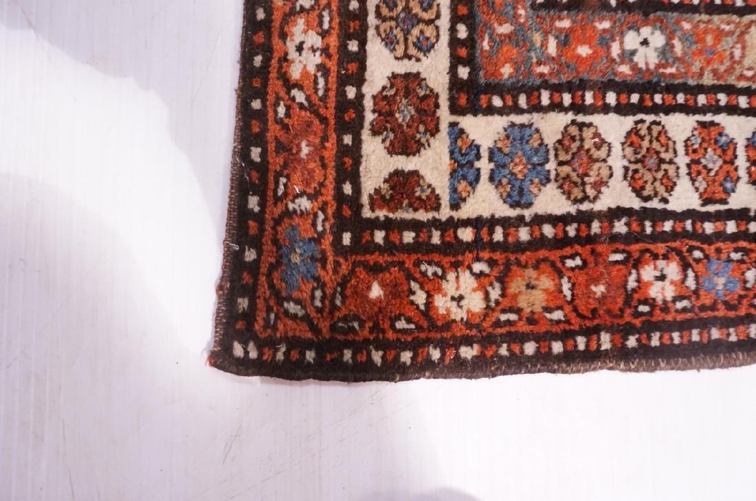 "13'10"" x 3'7"" Handmade Oriental Rug Carpet. Geome - 8"