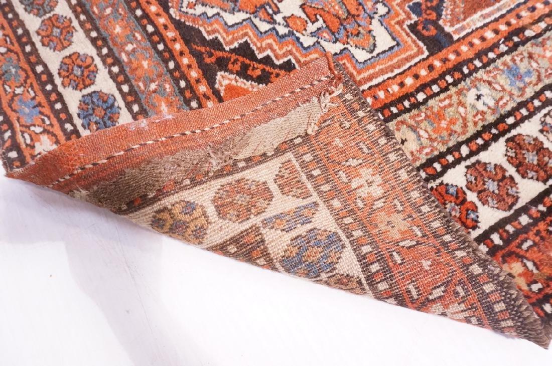 "13'10"" x 3'7"" Handmade Oriental Rug Carpet. Geome - 9"