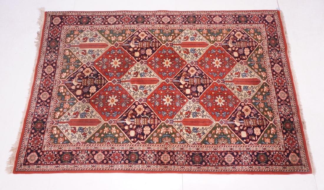"9'3"" x 6'2"" Handmade Oriental  Style Rug Carpet."