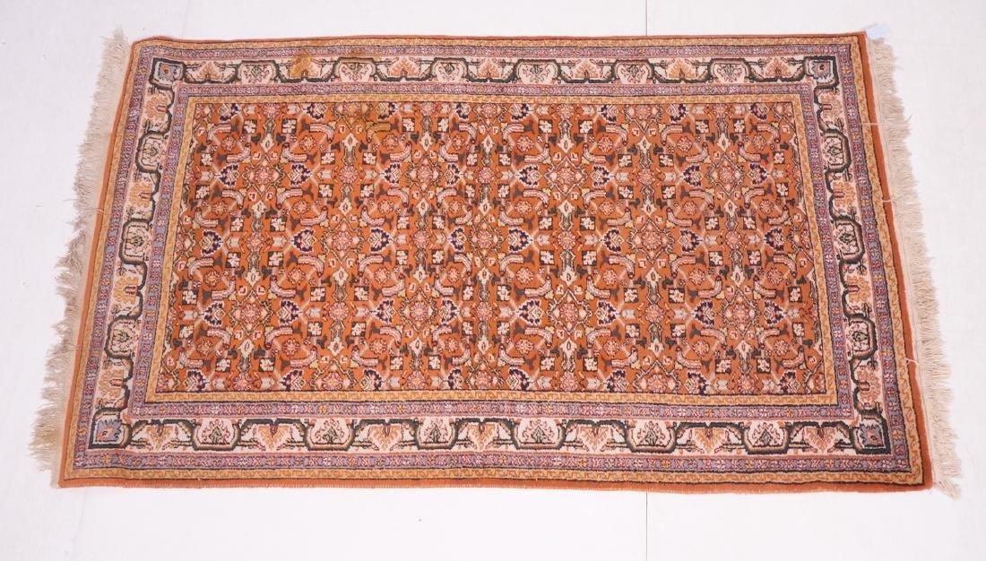 "6'5"" x 3'10"" Handmade Oriental  Style Rug Carpet."