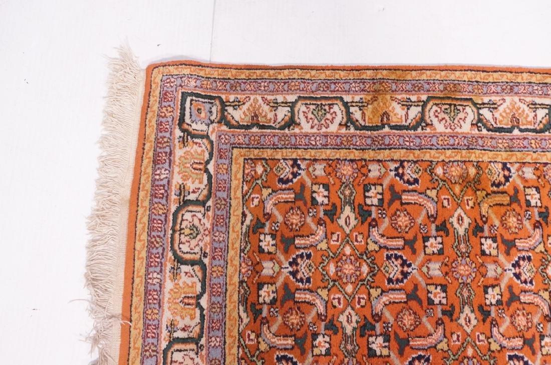 "6'5"" x 3'10"" Handmade Oriental  Style Rug Carpet. - 4"