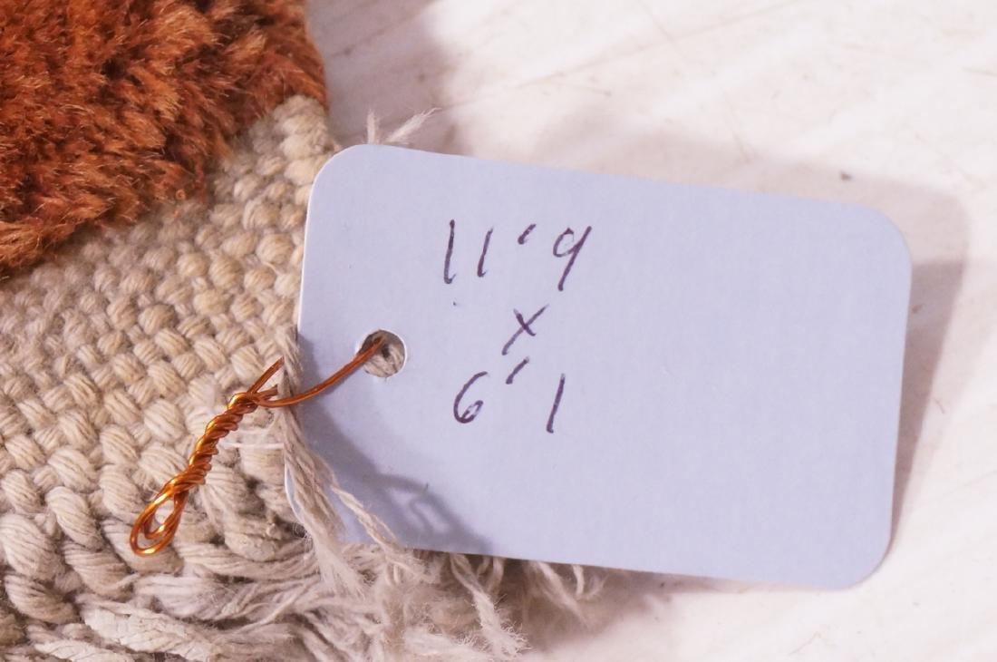 "11'9"" x 6'1"" Chinese Deco Handmade Rug Carpet. Go - 8"