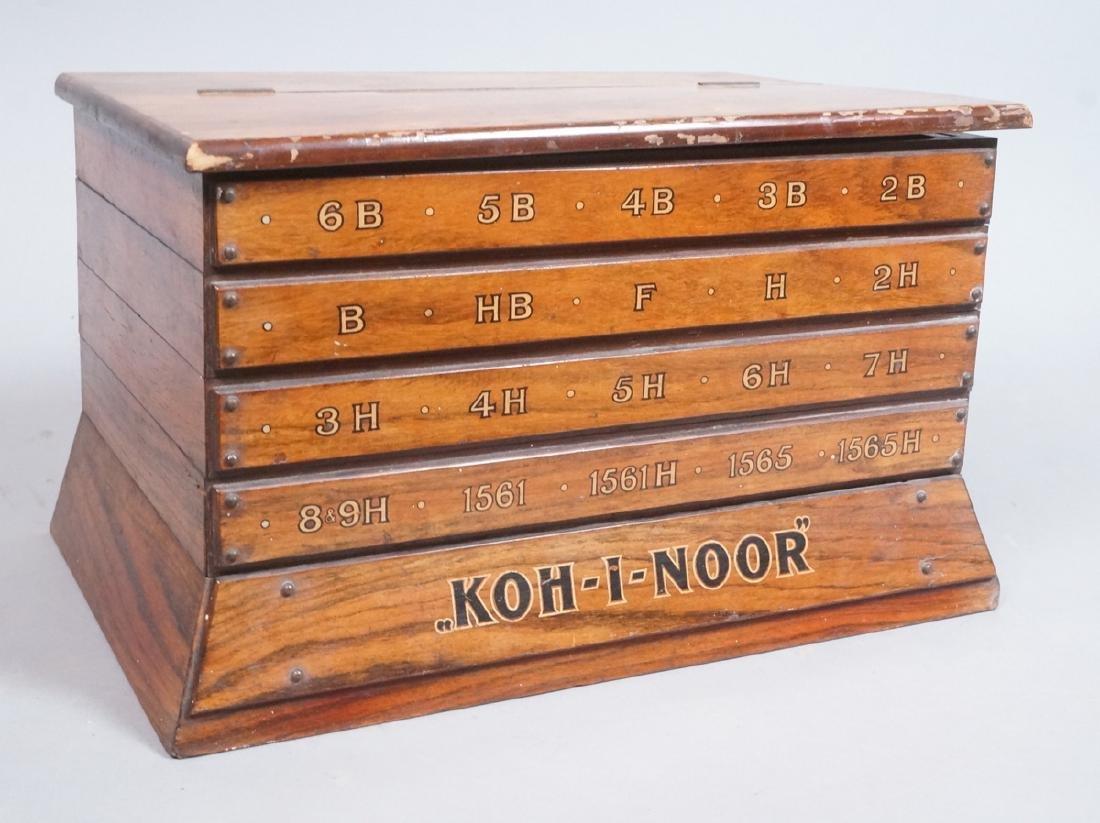KOH-I-NOOR Pencil Store Point of Sale Box. 5 tier