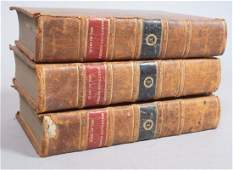 3 Volumes Antique Books Wars of the French Revol