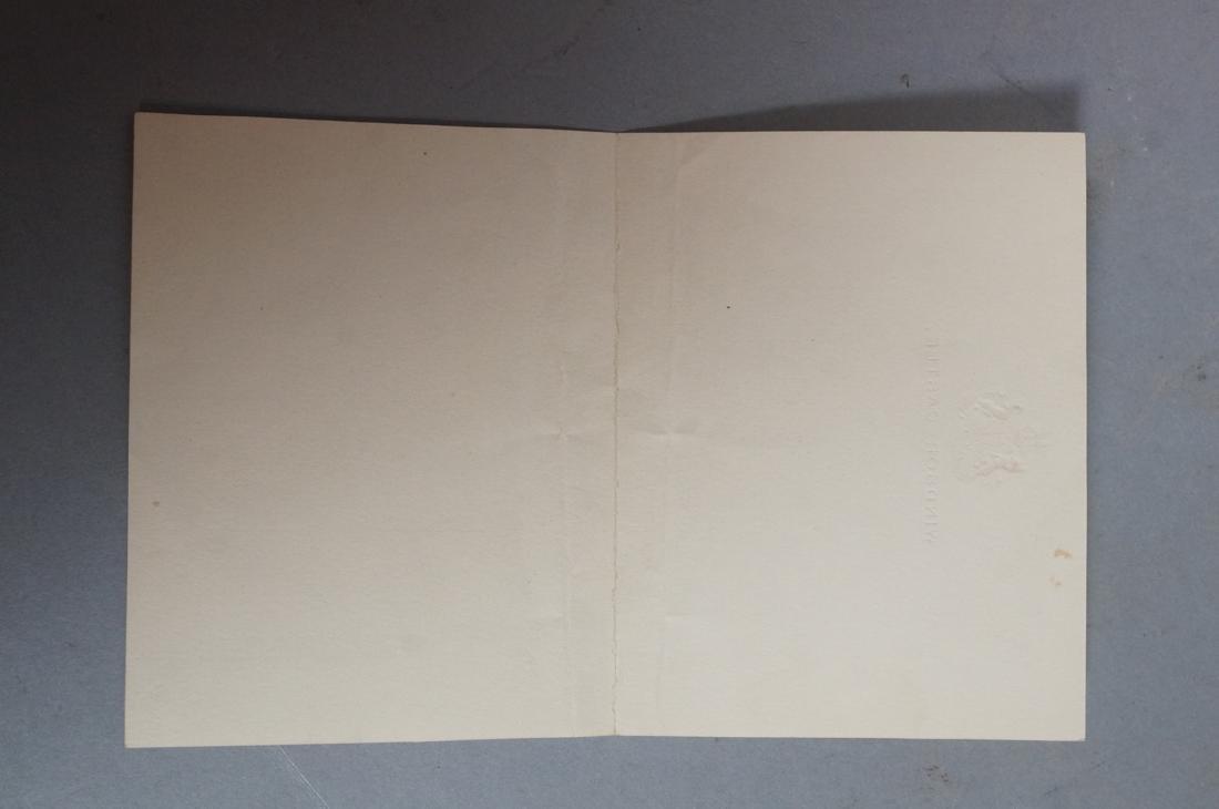 King George V Signed Letter on Windsor Castle Sta - 5