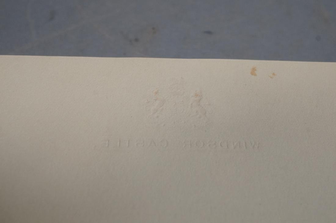 King George V Signed Letter on Windsor Castle Sta - 6