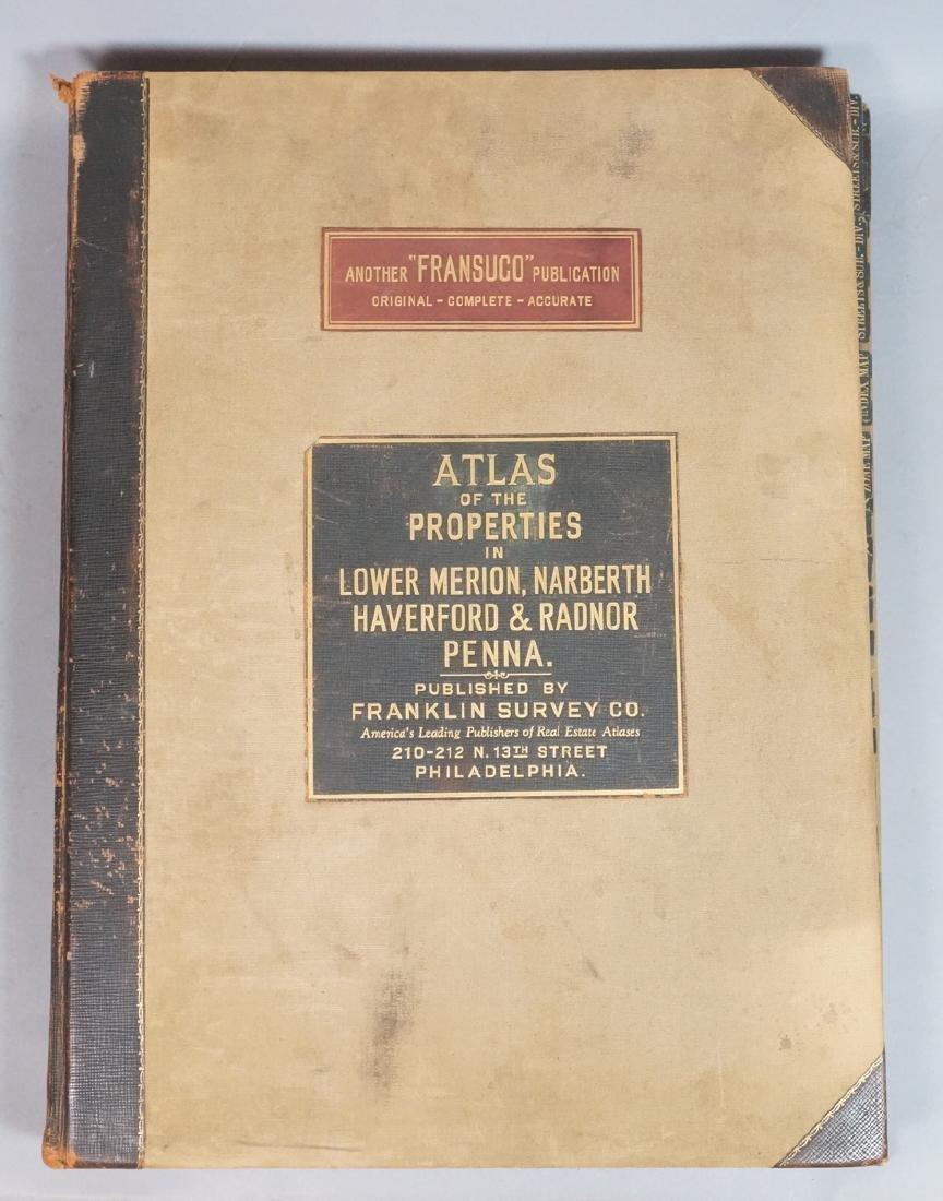 Main Line Philadelphia Atlas 1937. Published by F