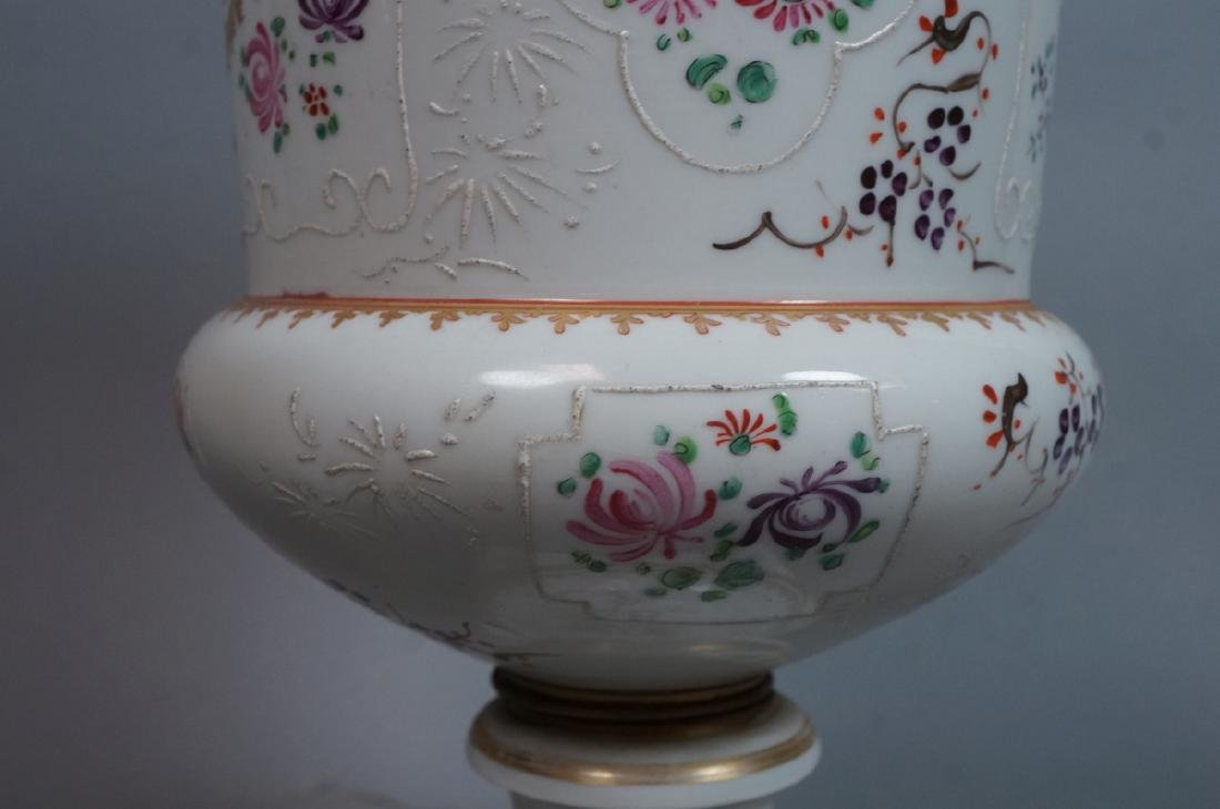 HEREND Hand Painted Tapered Square Vase. Hungaria - 7