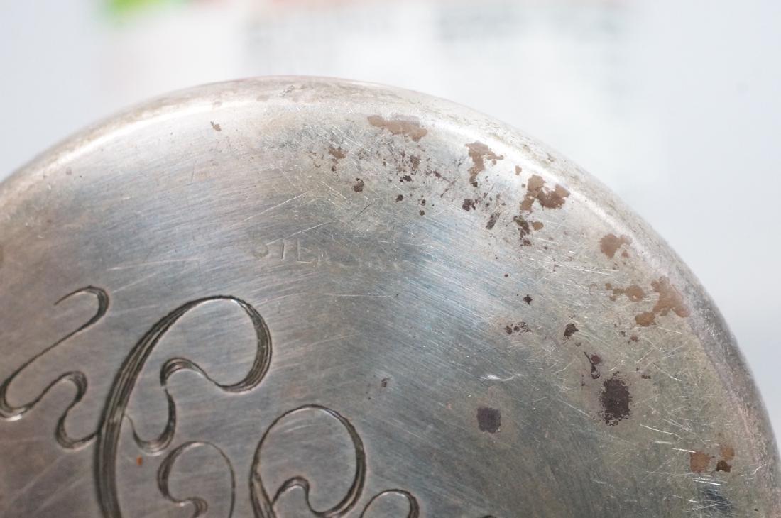 SCHEIBLER Sterling Silver  Plique a Jour Jar. Ste - 7