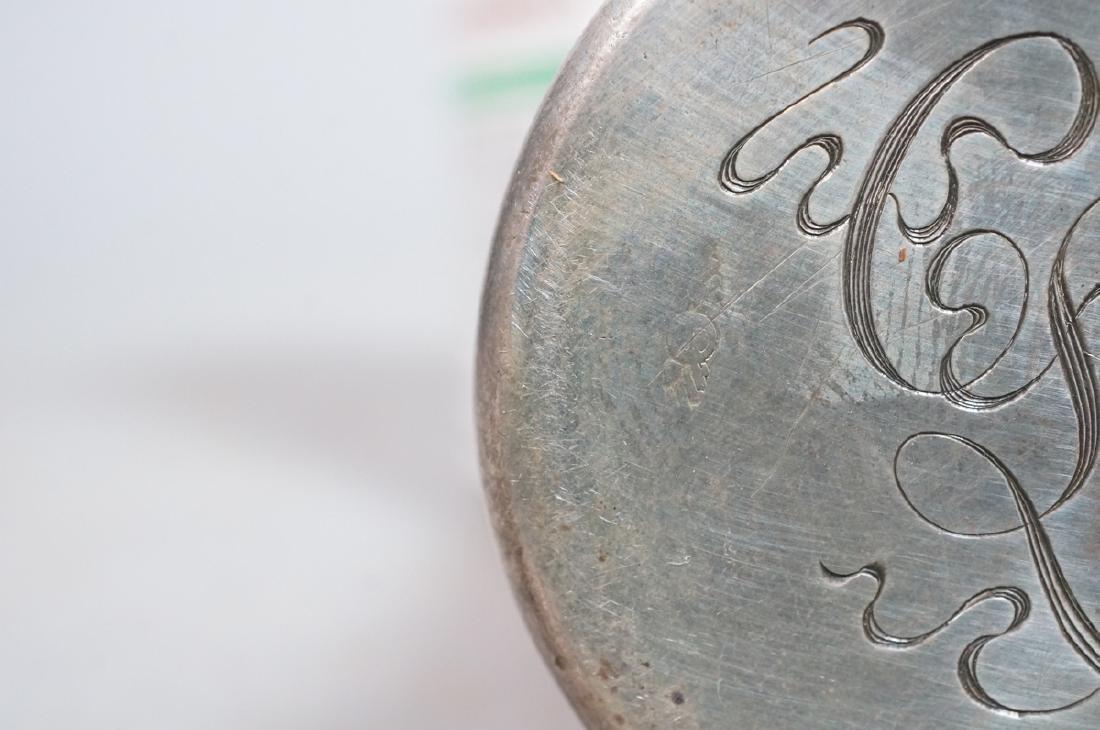 SCHEIBLER Sterling Silver  Plique a Jour Jar. Ste - 8