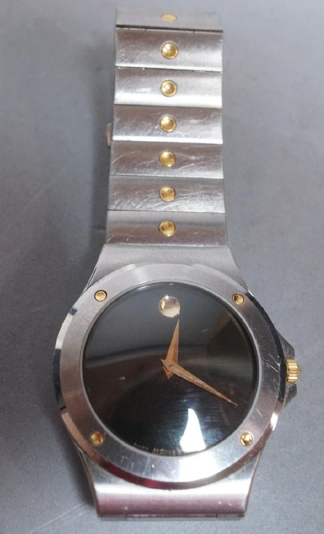 MOVADO Stainless Steel Museum Watch Swiss Made. C