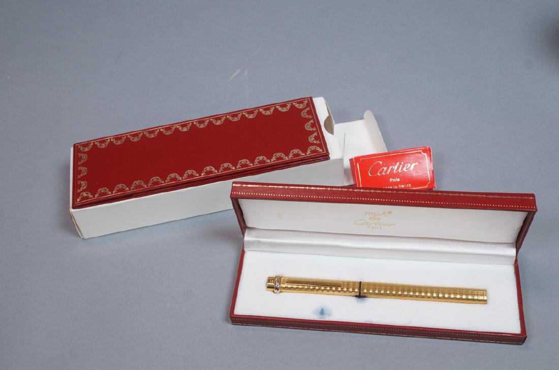 CARTIER Gold Filled Fountain Pen in Must de Carti - 2