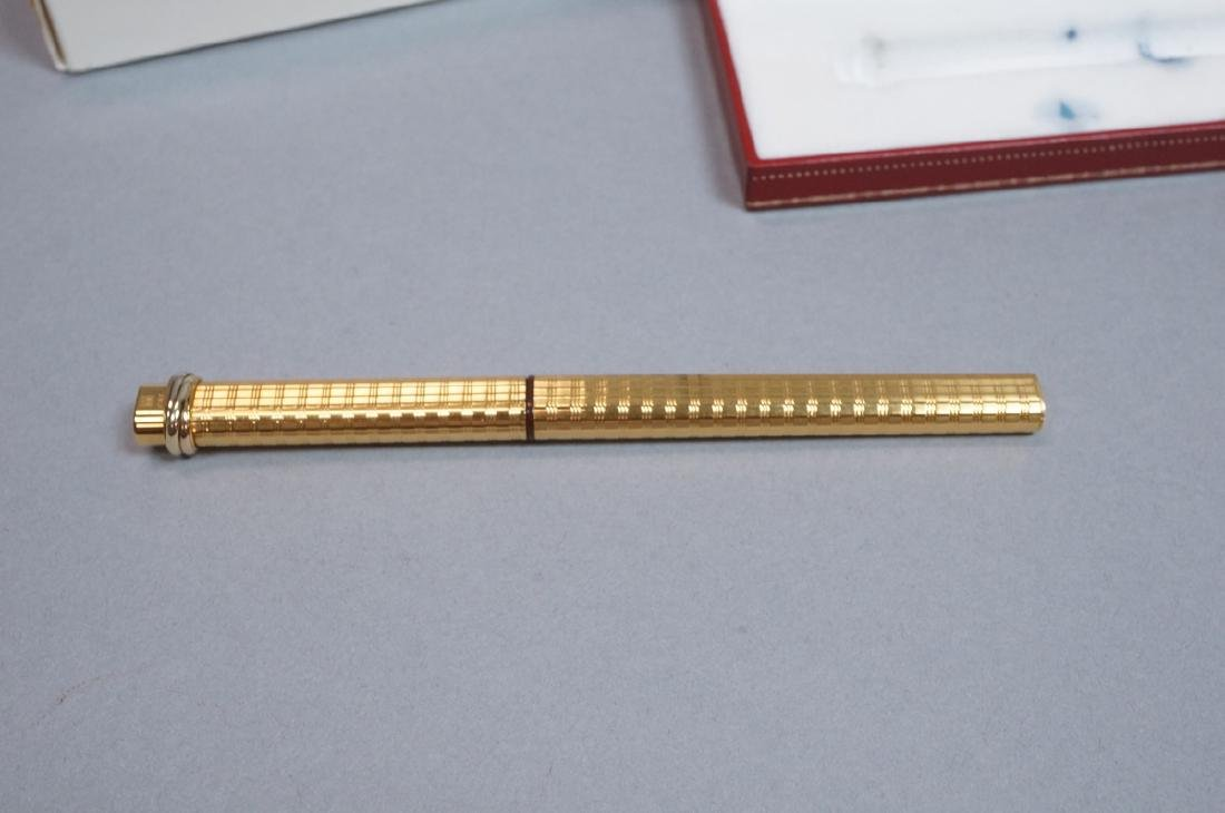 CARTIER Gold Filled Fountain Pen in Must de Carti - 3