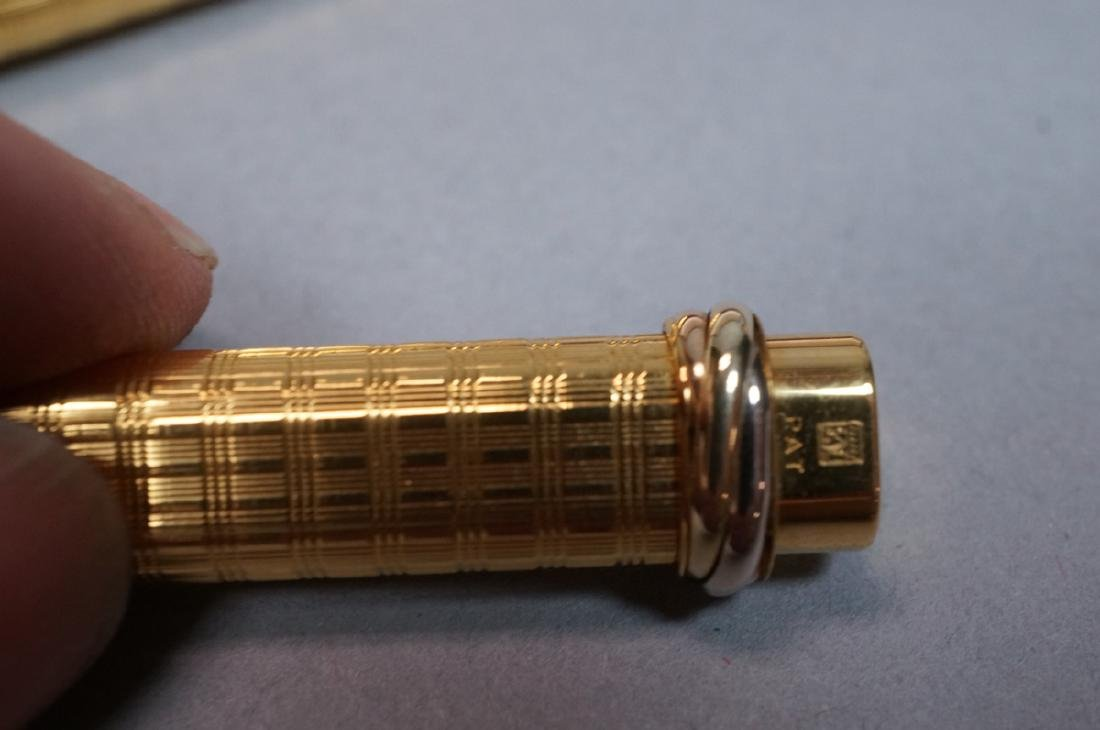 CARTIER Gold Filled Fountain Pen in Must de Carti - 5
