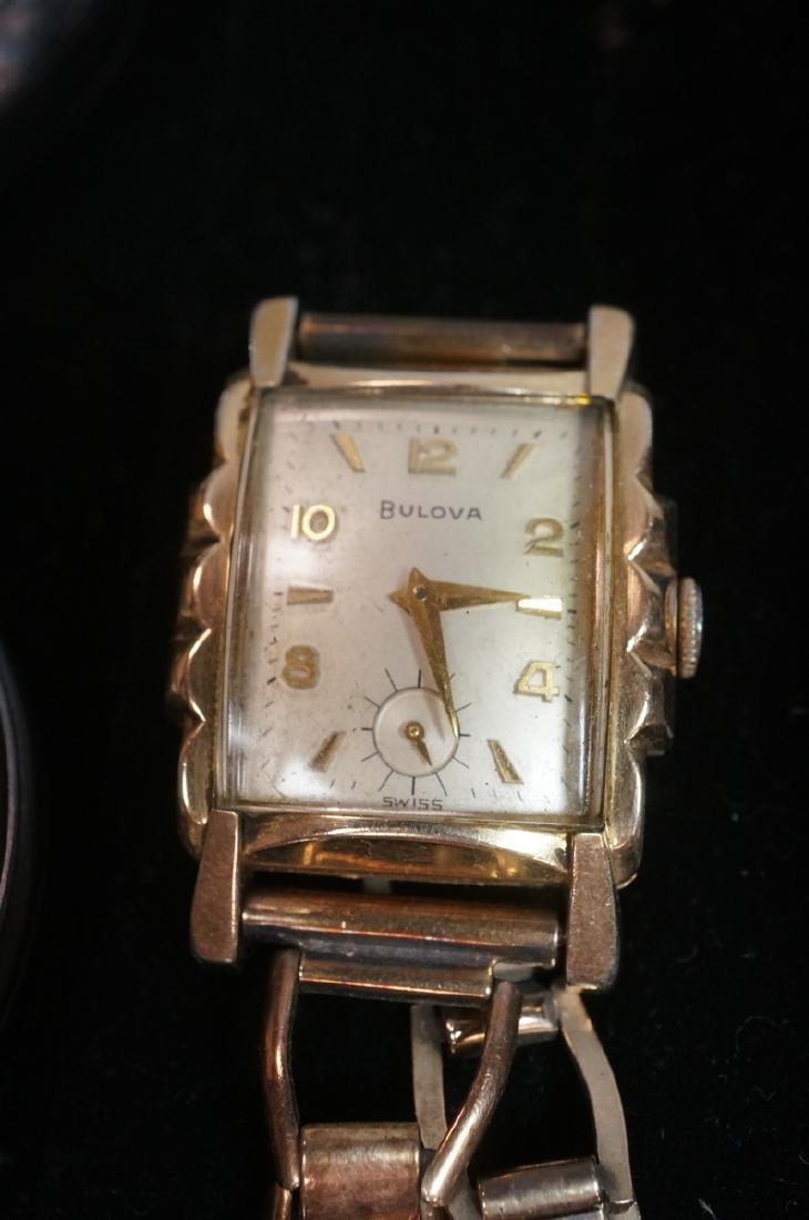 10pc Time Piece Pocket & Wrist Watch Lot. 4 wrist - 2