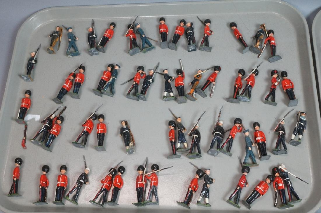 128 BRITAINS Toy Soldiers Includes 15 Mounted on - 3