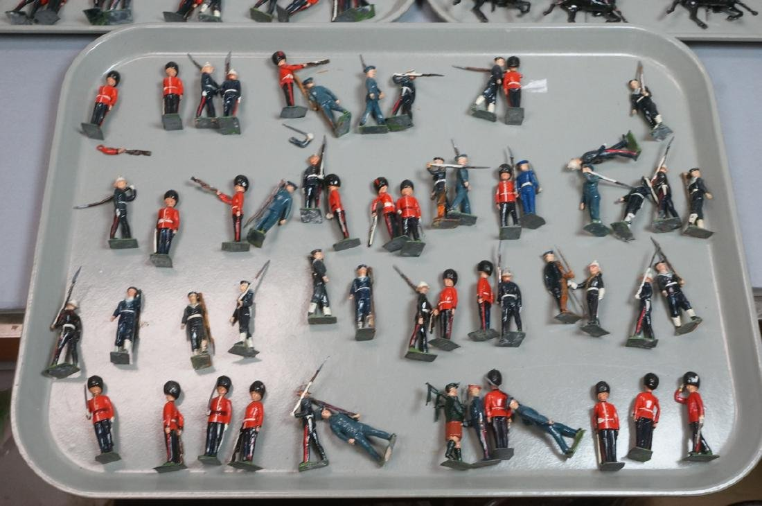 128 BRITAINS Toy Soldiers Includes 15 Mounted on - 4