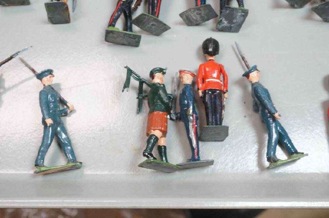 128 BRITAINS Toy Soldiers Includes 15 Mounted on - 5