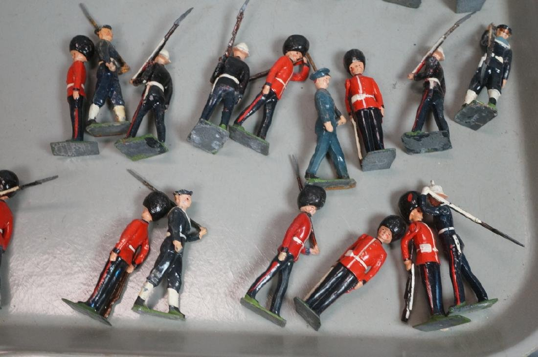 128 BRITAINS Toy Soldiers Includes 15 Mounted on - 7