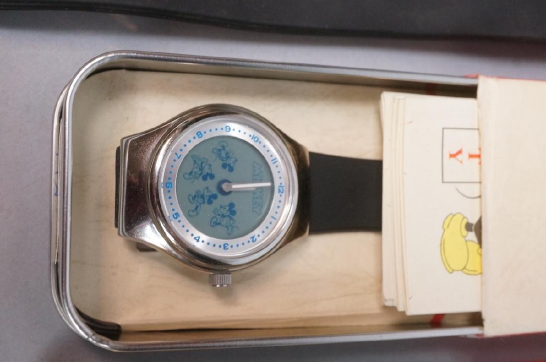 5 DISNEY MICKEY MOUSE Watches. 1) Euro Disney mir - 5