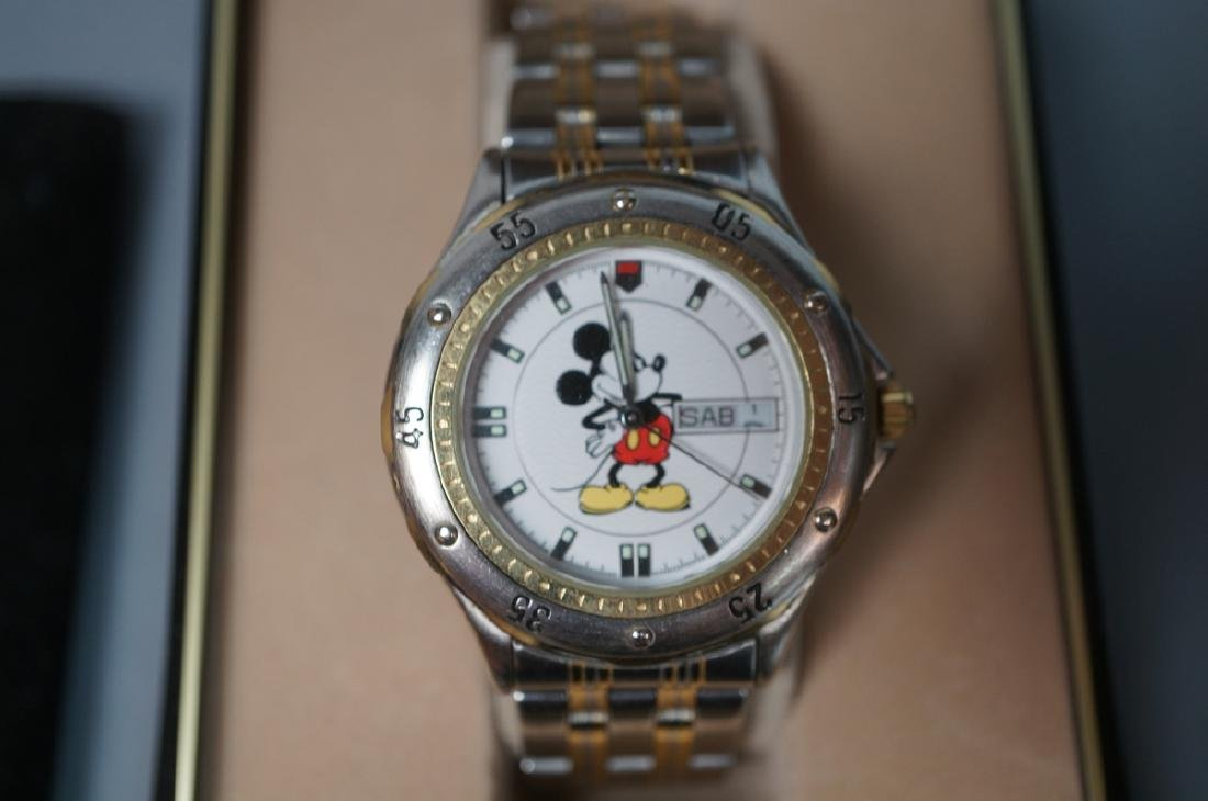 """5 DISNEY MICKEY MOUSE Watches. 1)""""Sketches of Mic - 3"""