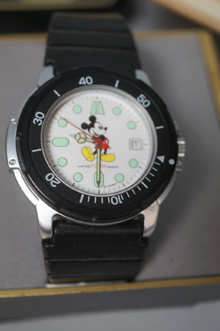 """5 DISNEY MICKEY MOUSE Watches. 1)""""Sketches of Mic - 6"""