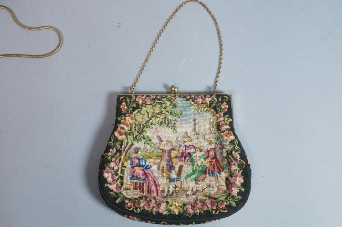 4 Vintage Evening Bags Purses. 2 seed bead and em - 8